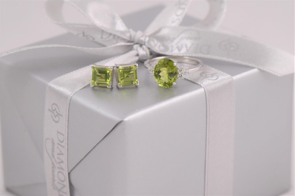 Peridot. The August Birthstone.
