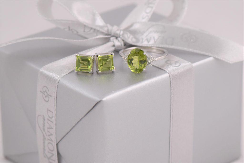 Peridot The August Birthstone Diamonds Pearls Perth