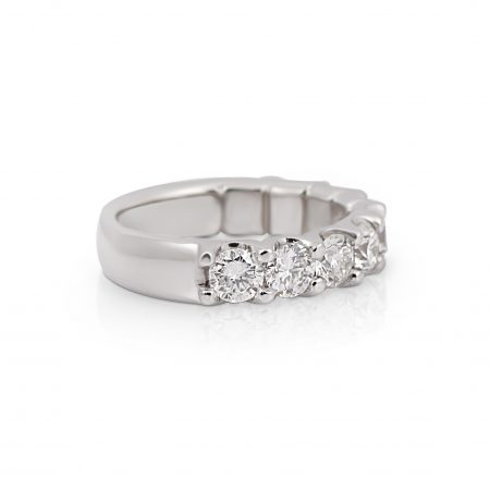 Scalloped Diamond Ring | B22192