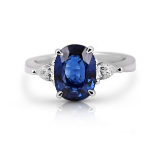 Scalloped Diamond Ring | B22192