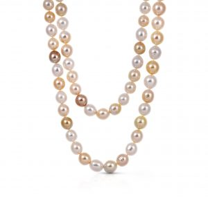 Autore Gold South Sea Pearl Strand Necklace | B21498