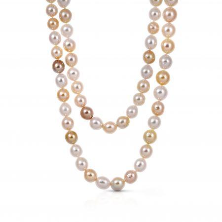 Autore Gold South Sea Pearl Strand Necklace | B21498