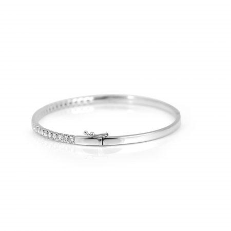 Claw Set Diamond Bangle | B22253