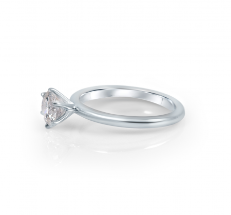Six Claw Solitaire With Rounded Band | B22351.1
