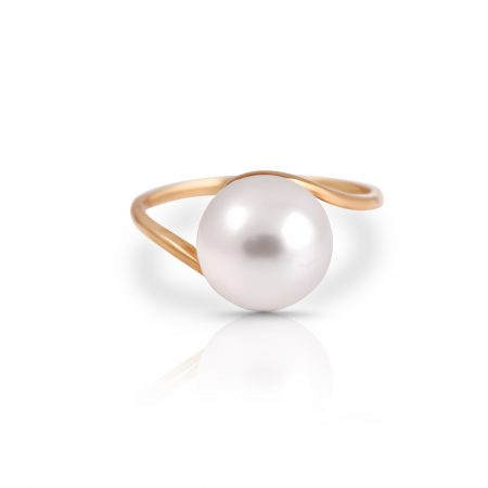South Sea Pearl Twist Ring | B21405