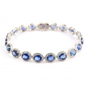 Sapphire And Diamond Bracelet | C10581.2