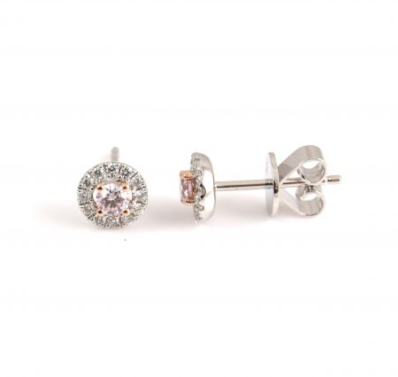Argyle Pink Diamond Stud Earrings | CBI100647