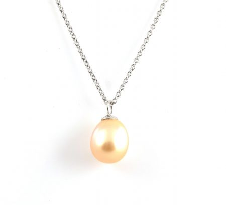 Gold South Sea Pearl Pendant | B19695