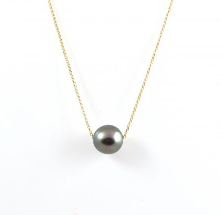 Tahitian south sea pearl pendant | B17683