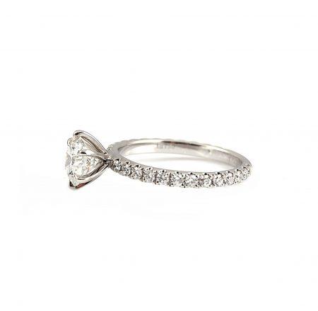 Round Brilliant Cut Diamond Engagement Ring | B22760