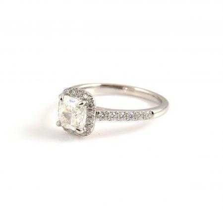 Cushion Cut Diamond Engagement Ring | B22775 (2)