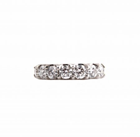 Scalloped Diamond Wedding Ring   B22798