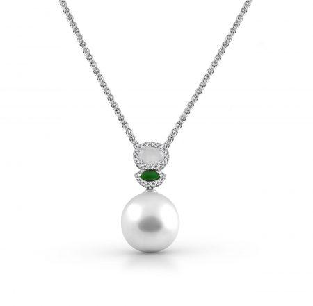 South Sea Pearl And Jade Pendant | B21203