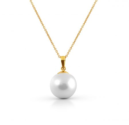 South Sea Pearl Bail And Cup Pendant | B22610
