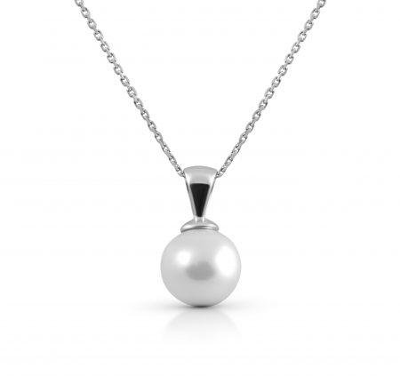 White Gold South Sea Pearl Pendant | B22770