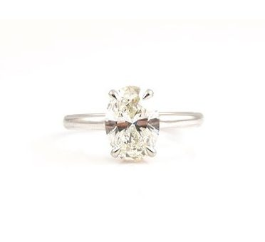 Oval Cut Diamond Engagement Ring | B22738