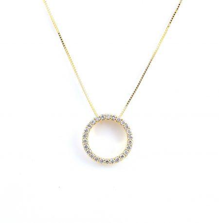 Circle Of Life Diamond Set Pendant | B22985