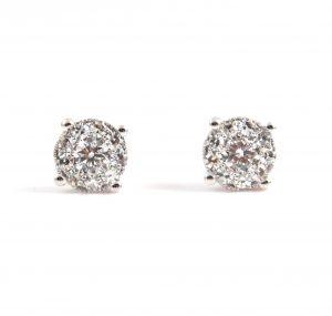 Diamond Set Lady Dream Earrings | B22989