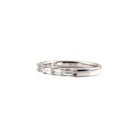 Baguette Diamond Wedding Band | B23101