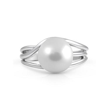 White Gold South Sea Pearl Dress Ring | B22650