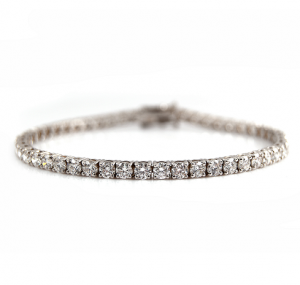 Claw Set Diamond Tennis Bracelet | B22702