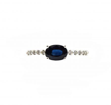 Sapphire And Diamond Dress Ring   B23148