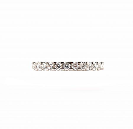 Diamond Claw Set Wedding Ring   B23155