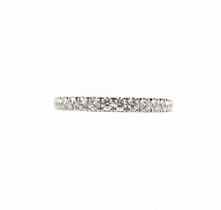 Double Claw Set Diamond Wedding Ring   B23157