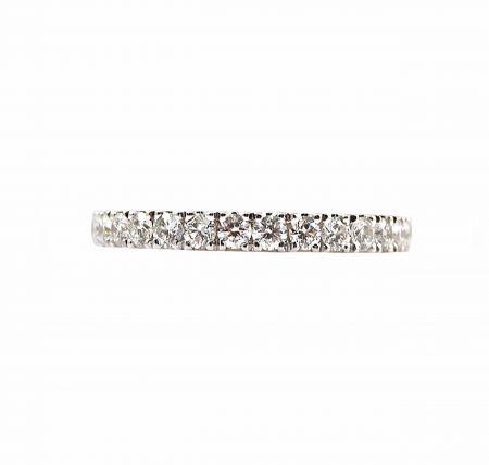 Double Claw Set Diamond Wedding Ring | B23157