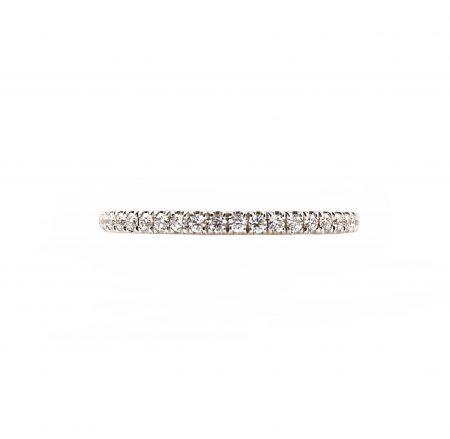 Fine Claw Set Diamond Wedding Ring | B23158