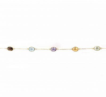 Coloured Gemstone Bracelet | B23129