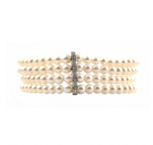 Fancy Fresh Water Pearl Bracelet | B22198