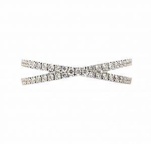 Crossover Diamond Dress Ring | B23239