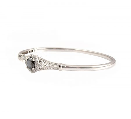Black Diamond Bangle | B23254