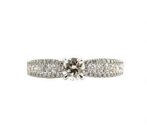 Round Brilliant Cut Engagement Ring   B23317