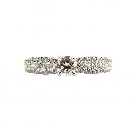 Round Brilliant Cut Engagement Ring | B23317