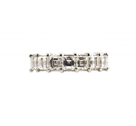 Carre Cut Diamond Ring | B23441